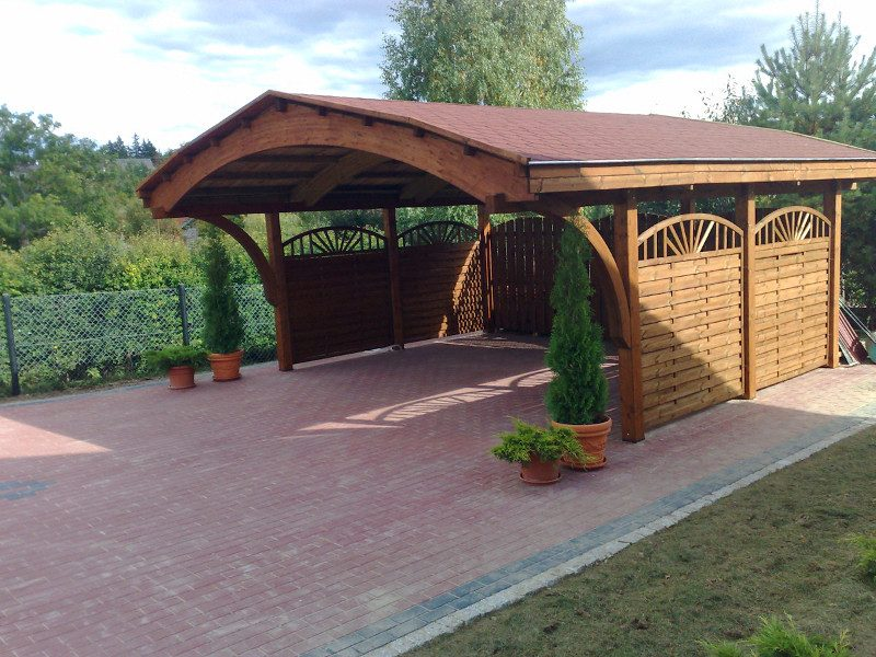 Pictures additionally 39856 Attached Carport Plans Exterior Traditional With Car Port Swivel Outdoor Lounge Chairs in addition Index together with Flat Roof Carports Innovation additionally Two Car Garage. on carport with storage shed attached