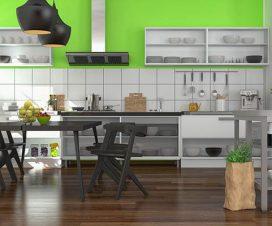 licht szenario in der k che. Black Bedroom Furniture Sets. Home Design Ideas