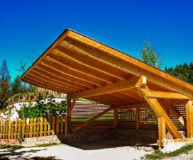 Carport aus Holz - eine Alternative fuer Garage