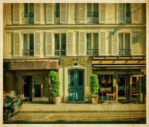 Französischer Balkon in eigenem Zuhause