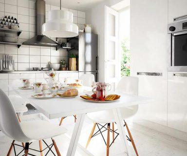 Licht-Szenario in der Küche