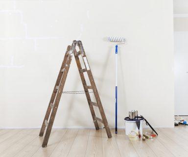 Gipskartonplatten - glatte Wände und Decke